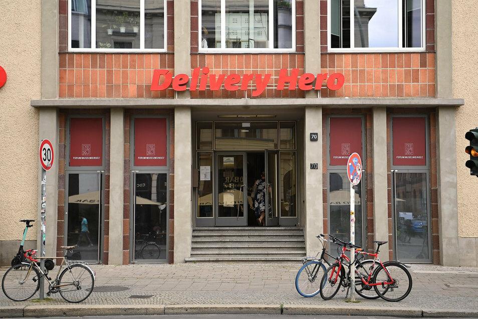 Die Zentrale von Delivery Hero in Berlin.