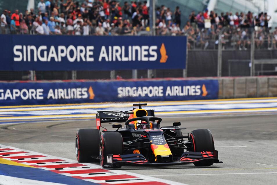 Das Formel-1-Rennen in Singapur findet zum zweiten Mal in Folge nicht statt (Archivbild).