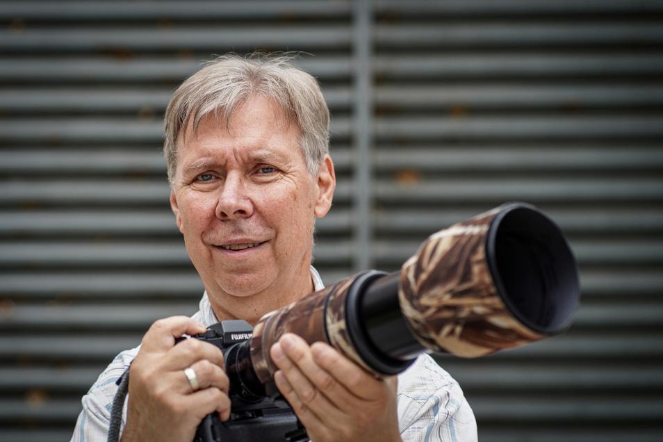 Dietmar Buttig fotografiert, seitdem er 14 Jahre alt ist. Jetzt hat er mit einer Stadtansicht von Bautzen den SZ-Fotowettbewerb um das schönste Bautzen-Motiv gewonnen.