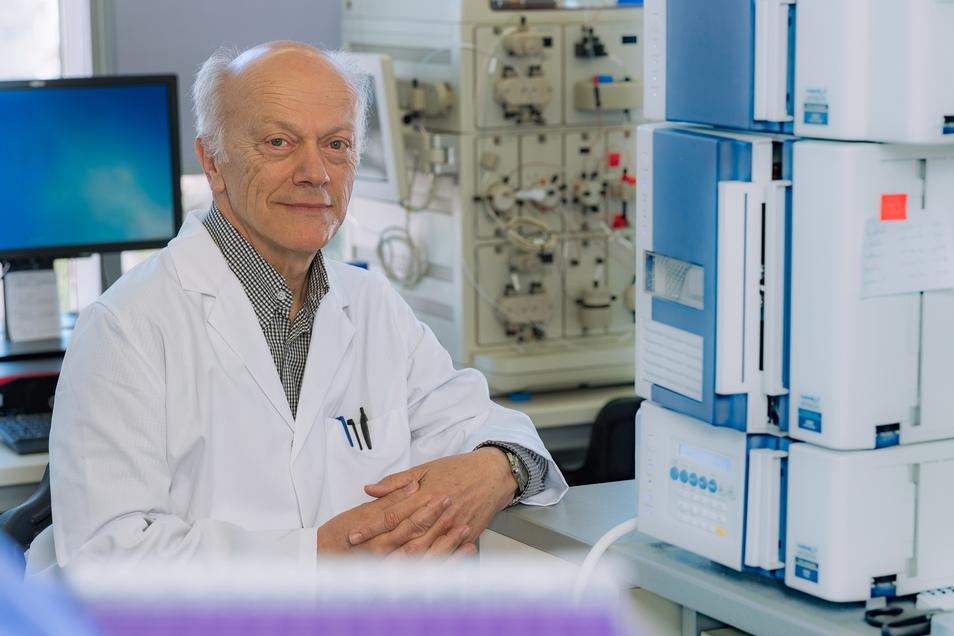 Prof. Gerhard Ehninger ist Arzt, Krebsforscher und Firmengründer. Jahrelang leitete er eine Klinik im Dresdner Uniklinikum.