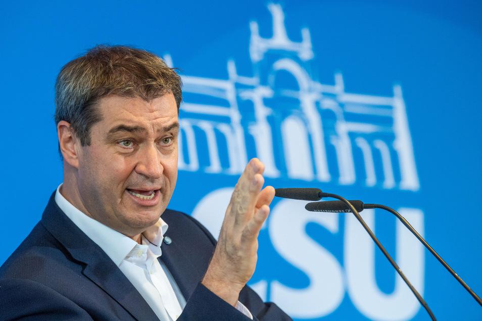 CSU-Chef Markus Söder warnt die CDU vor einem langwierigen Personalstreit.