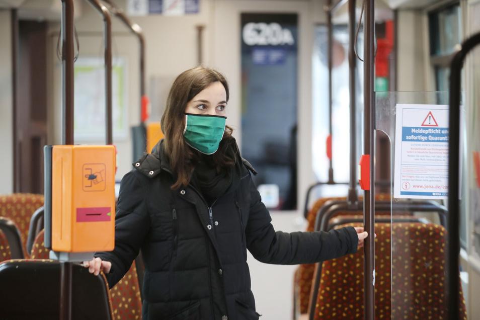 In Dresden gilt jetzt die Maskenpflicht.