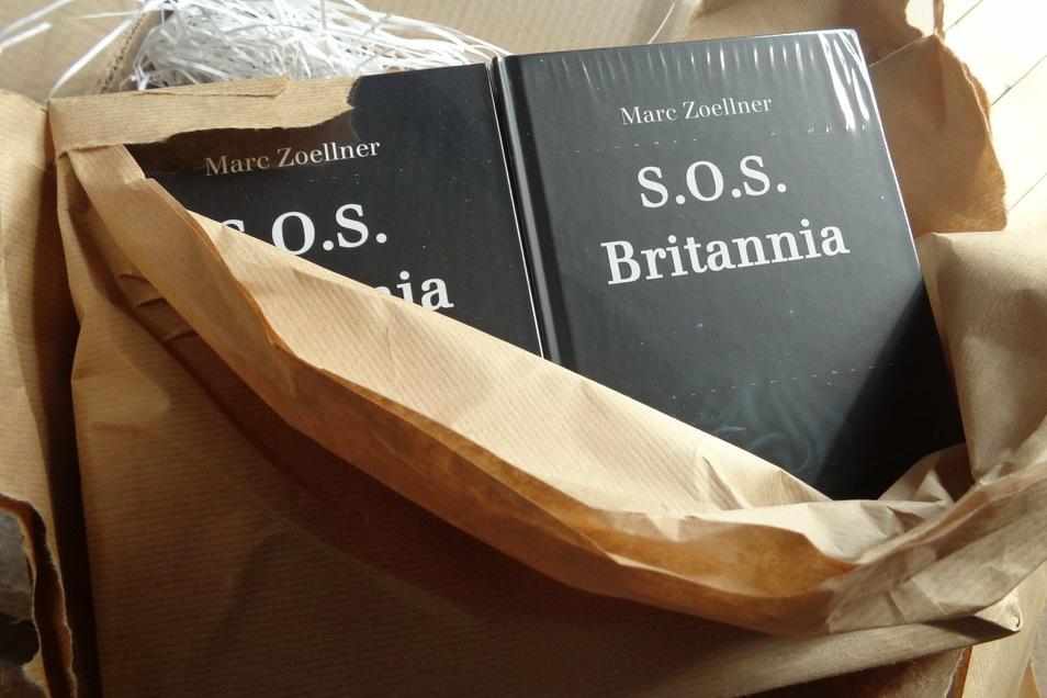 Der Meißner Autor Marc Zoellner hat über den Untergang des britischen Passagierschiffs S.O.S. Britannia und die anschließenden Qualen der Überlebenden einen eindrucksvollen Roman verfasst.