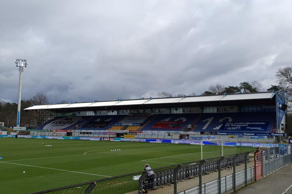 14 Uhr ist Anstoß in der Hänsch-Arena in Meppen. Dynamo Dresden will dann seinen 100. Sieg in der 3. Liga einfahren.