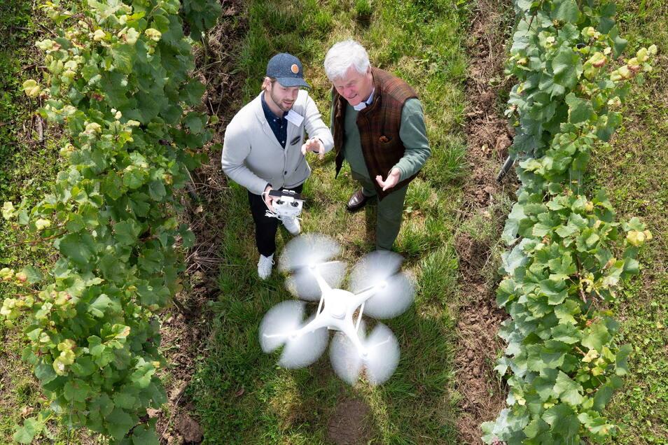 Digitale Technik gewinnt im heimischen Obst- und Weinbau zunehmend an Bedeutung.