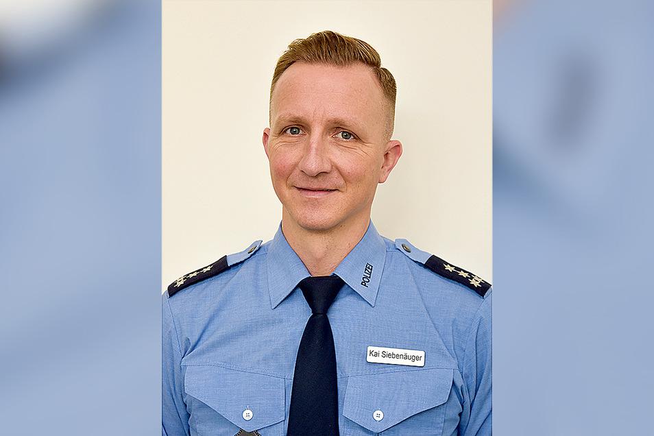Kai Siebenäuger ist Pressesprecher der Polizeidirektion Görlitz.