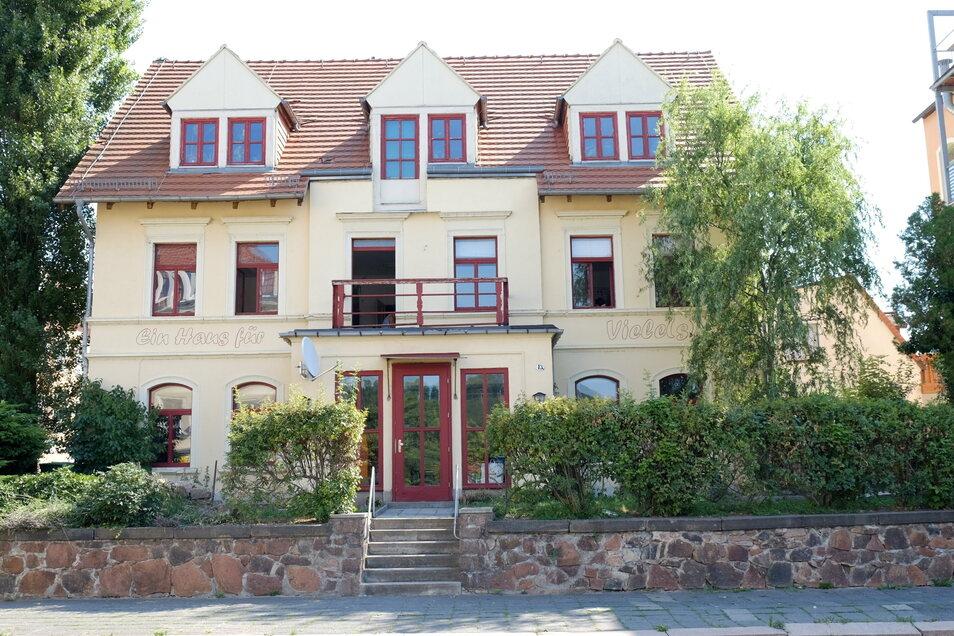 Das Haus für Vieles an der Dresdner Straße ist Sitz des gleichnamigen Vereins.