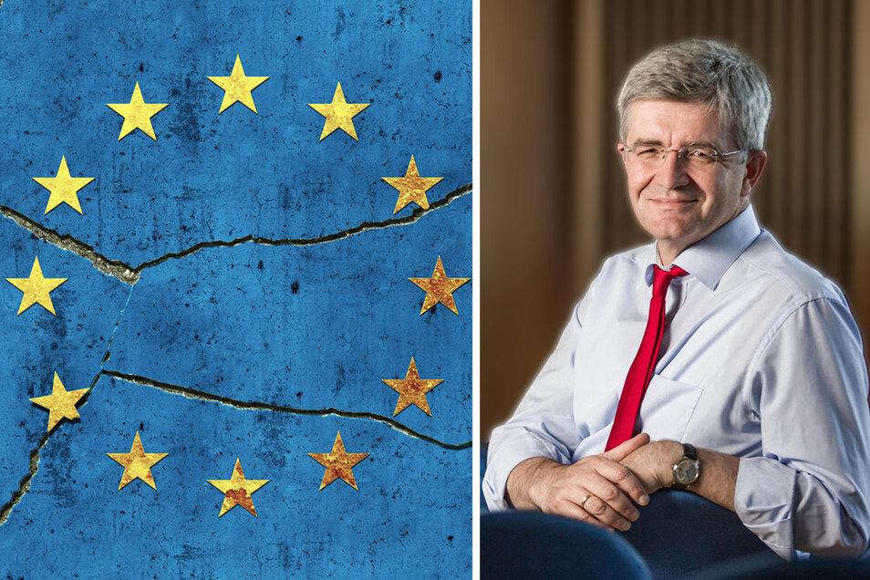 Christian Avenarius, geboren 1959 in München, ist seit vorigem Jahr Leiter des Sachsen-Verbindungsbüros in Brüssel. Zuvor war er unter anderem Oberstaatsanwalt in Dresden. Er ist Mitglied der SPD.