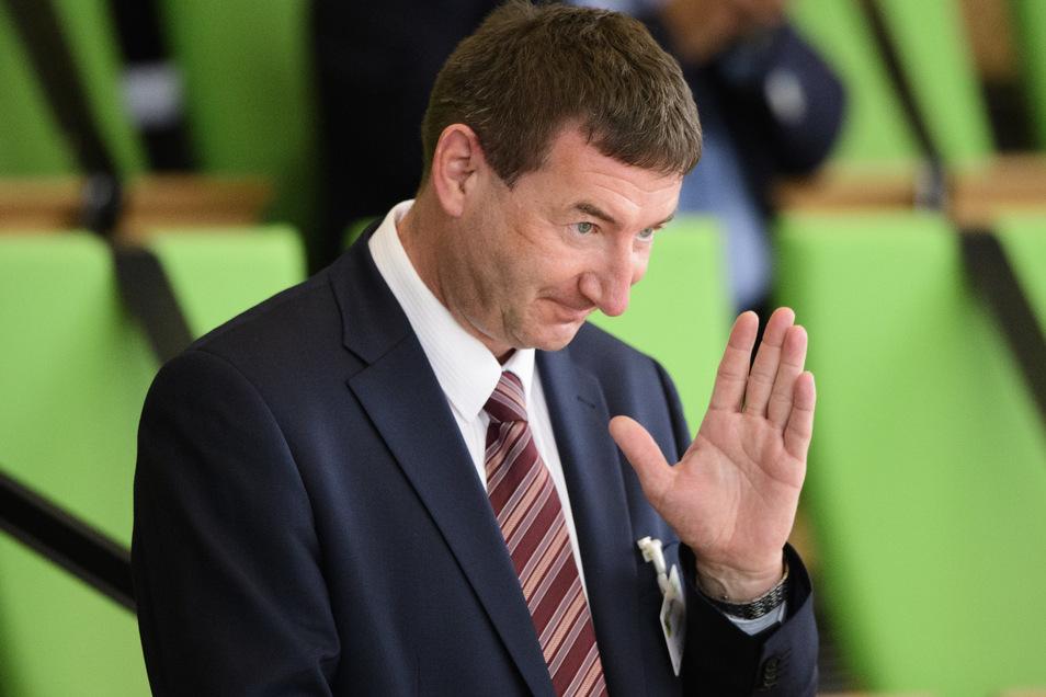 Jens Michel wurde vom Landtag zum Präsidenten des Sächsischen Rechnungshofes gewählt. Das Amt tritt er aber erst nächstes Jahr an.
