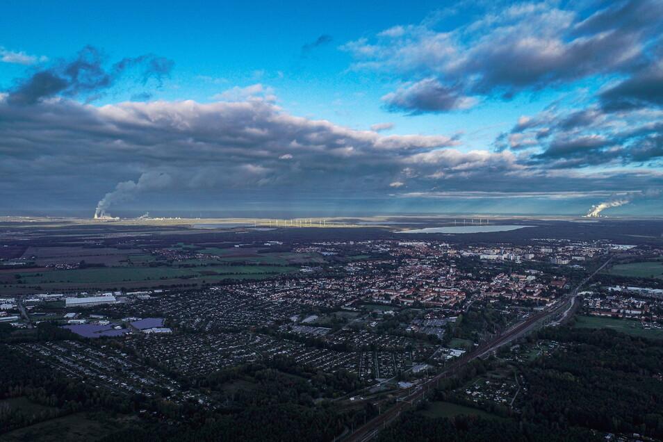 Kleine Stadt mit großen Hoffnungen. Hoyerswerda setzt auf den Strukturwandel. Foto: Imago Images