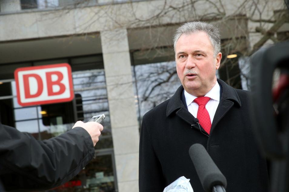 Claus Weselsky, Vorsitzender der Gewerkschaft Deutscher Lokomotivführer GDL