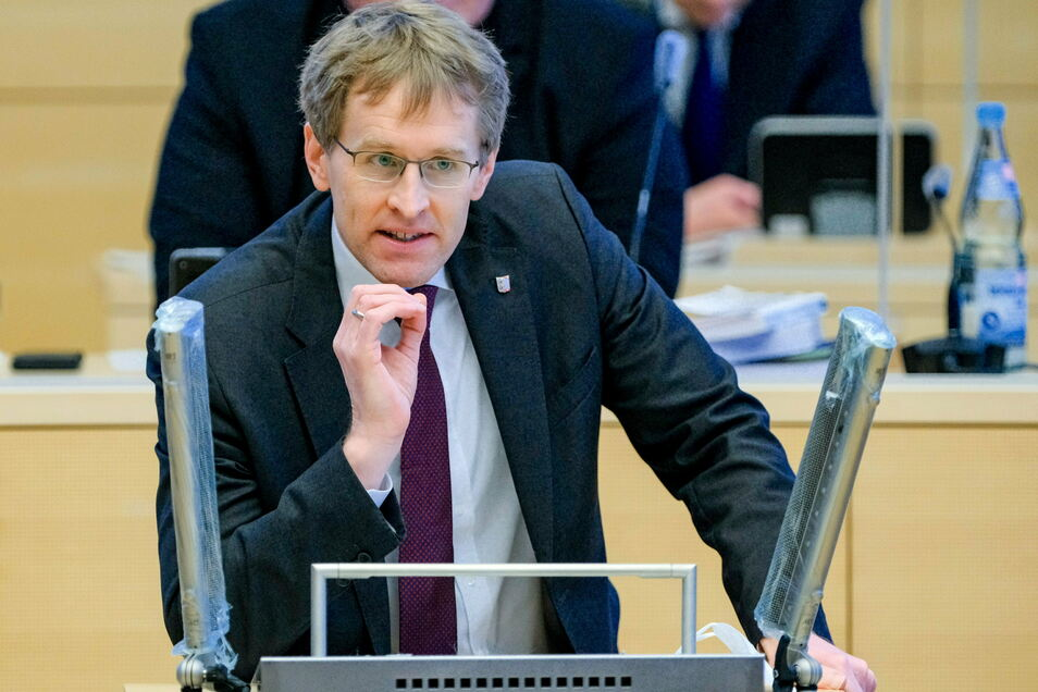 Daniel Günther (CDU), Ministerpräsident von Schleswig-Holstein.