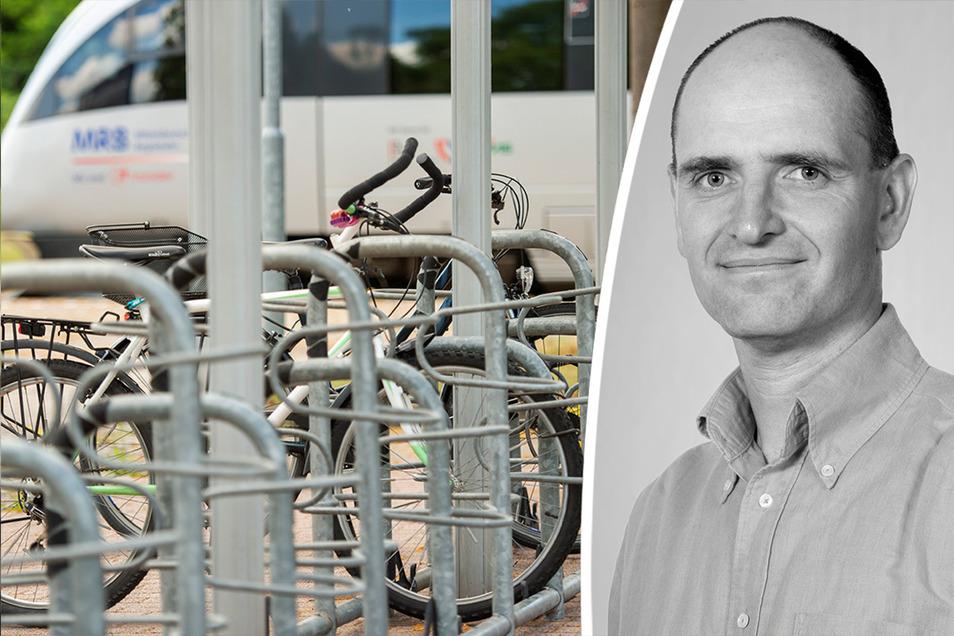 SZ-Redakteur Jens Hoyer kommentiert die aktuelle Situation von Fahrrad-Parkplätzen im Stadtzentrum sowie am Hauptbahnhof in Döbeln.