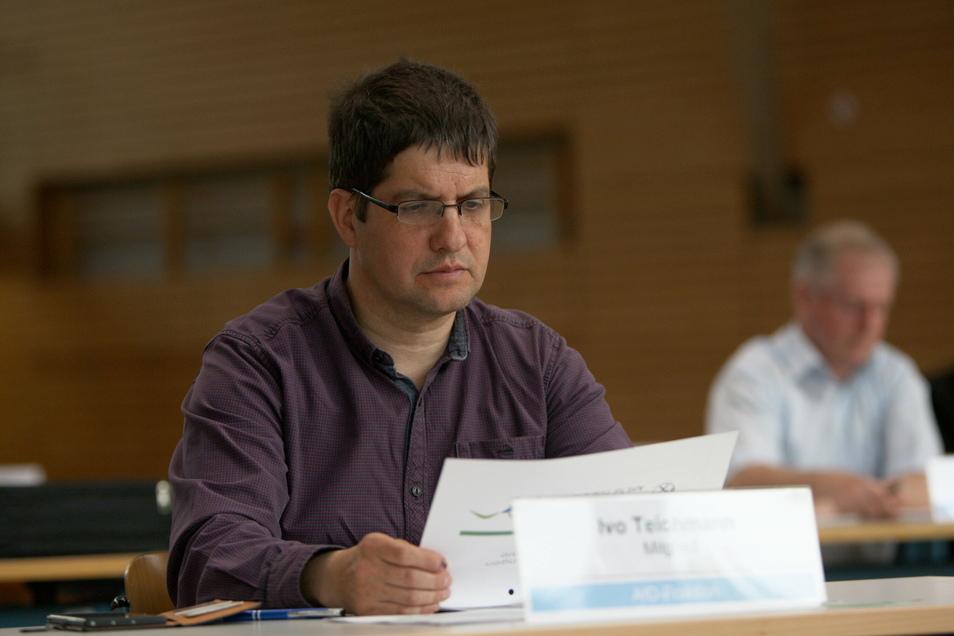 Ivo Teichmann - hier auf einem Symbolfoto - soll versucht haben, einen Referatsleiter im Statistischen Landesamt zu beeinflussen.