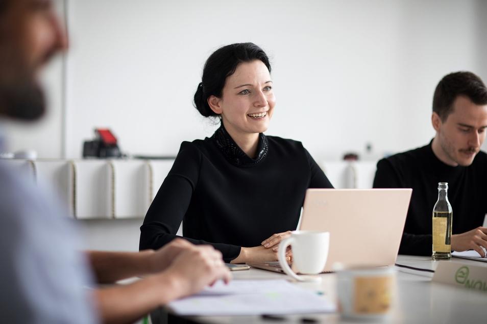Mandy Schipke, Geschäftsführerin des Dresdner Start-ups Novum