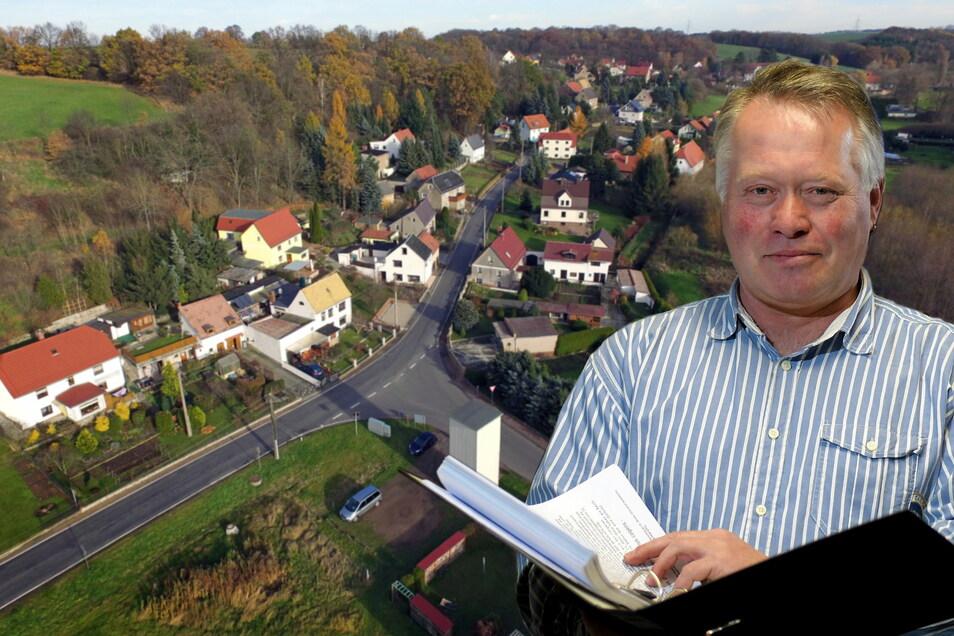 """Bürgermeister von Zschaitz-Ottewig: """"Es war für mich eine sehr emotionale Geschichte. Ich bin in diesen zwölf Jahren liebend gern Bürgermeister gewesen. Aber man muss ehrlicherweise sagen, dass der Spaßfaktor massiv in den Keller gerutscht ist."""""""