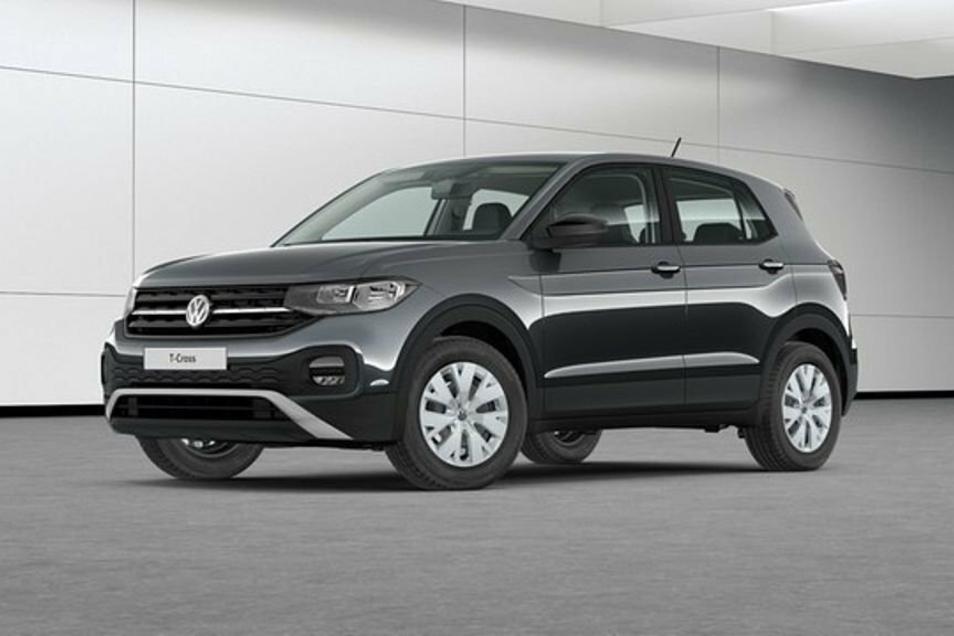 Die Stadtverwaltung Pulsnitz schafft jetzt einen VW T-Cross an, der diesem Modell ähnelt.
