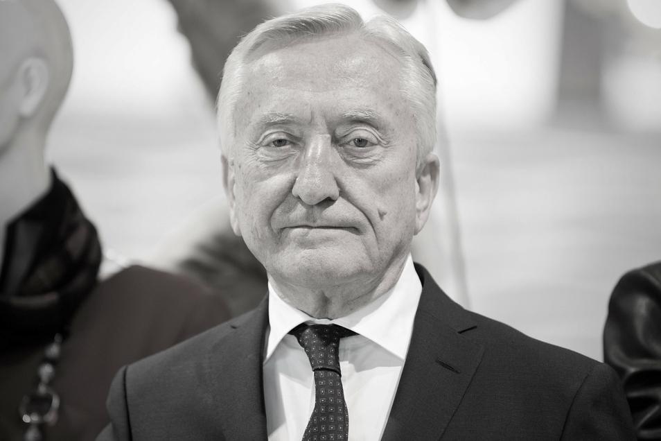 Gerhard Weber, der Unternehmer und große Sportfan aus Halle in Westfalen, wurde 79 Jahre alt.