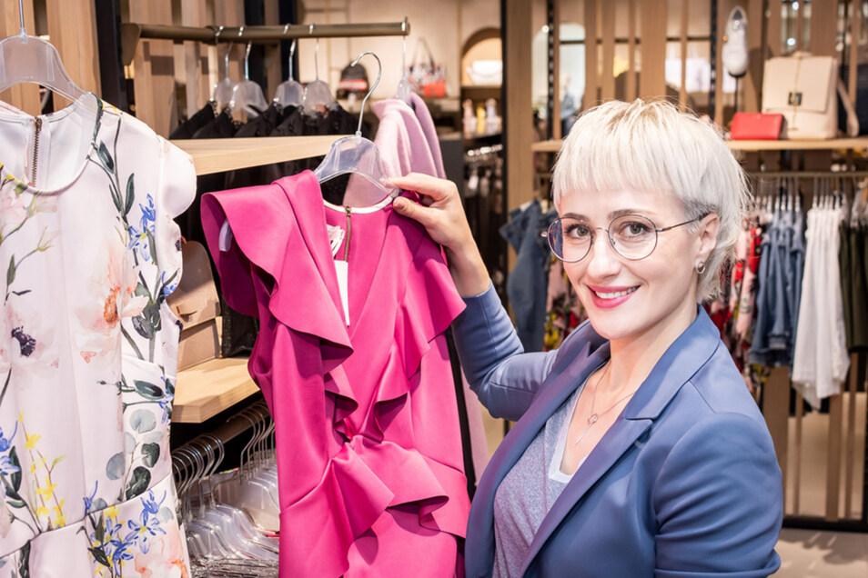 Larissa Markus bietet Stilberatungen in der Altmarkt-Galerie Dresden an. Wer den Service kennen lernen möchte, hat dazu während der Styling Lounge vom 9. bis 12. Oktober Gelegenheit.