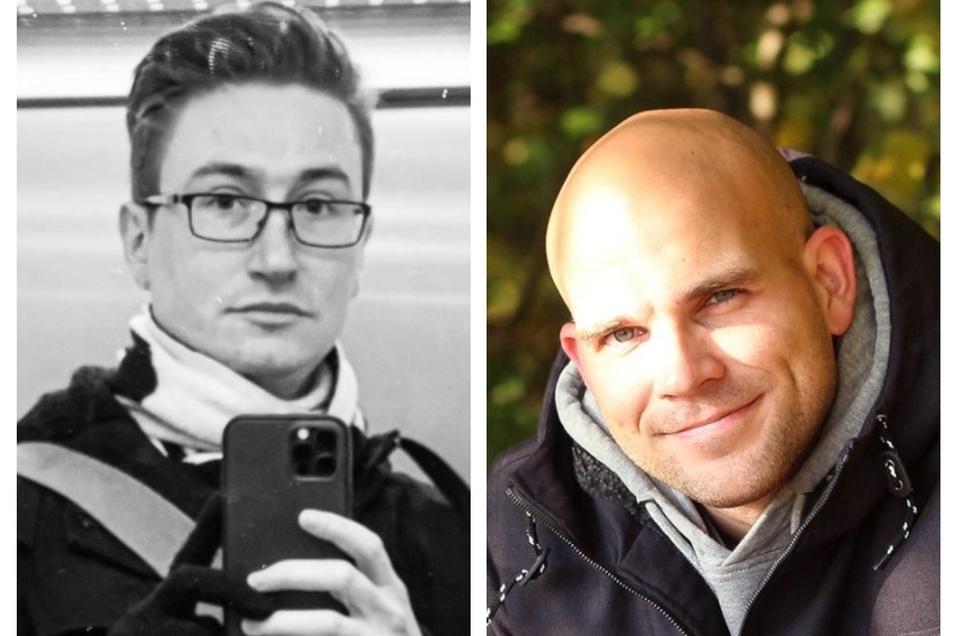 Ralf Bergmann (links) und Felix Leda sind die Sieger des Wettbewerbs.
