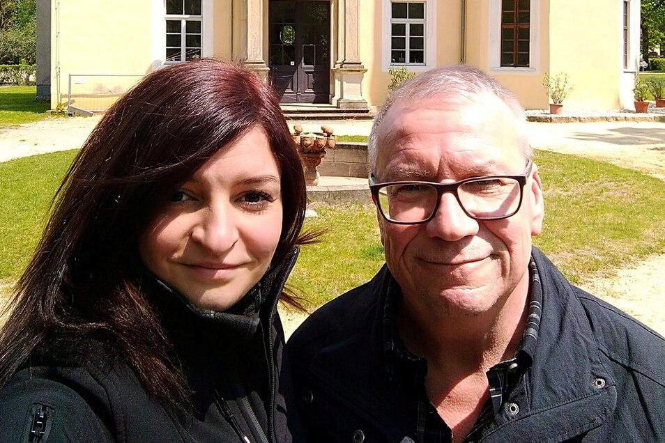 Vor vier Jahren lernten sich Radebergs OB Gerhard Lemm und Cindy Klotzsche kennen. Jetzt haben sie geheiratet.