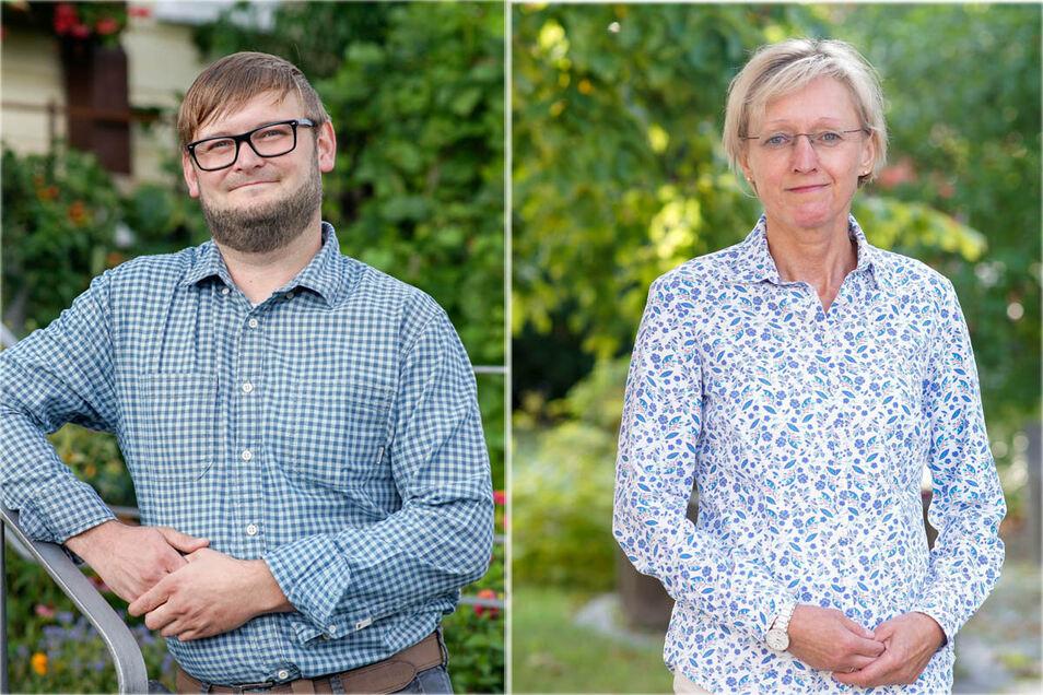 Mit dem Wahleinspruch habe er nichts zu tun, sagt David Wolf. Er hatte am 11. Oktober bei der Bürgermeisterwahl in Steinigtwolmsdorf gegen Kathrin Gessel verloren.