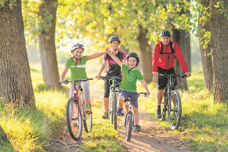 Allein, zu zweit, in Familie oder mit Freunden – das Erlebnis SZ-Fahrradfest wird dieses Jahr ein besonderes.