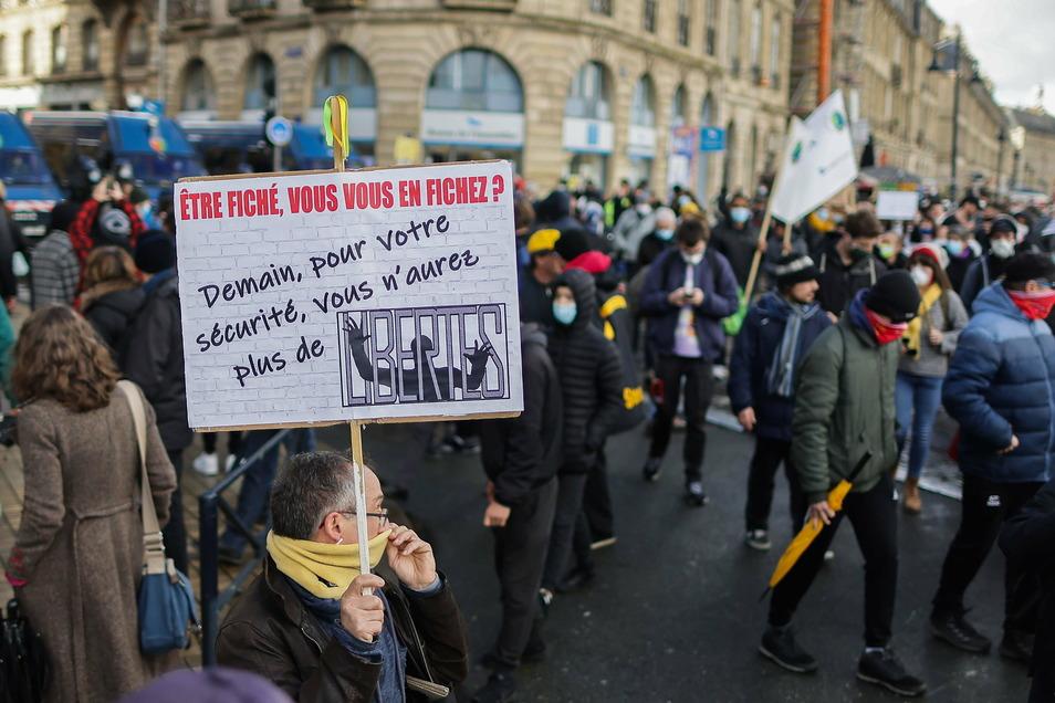 Zuletzt gab es in Frankreich massive Proteste gegen Einschränkungen der Presse- und Meinungsfreiheit.
