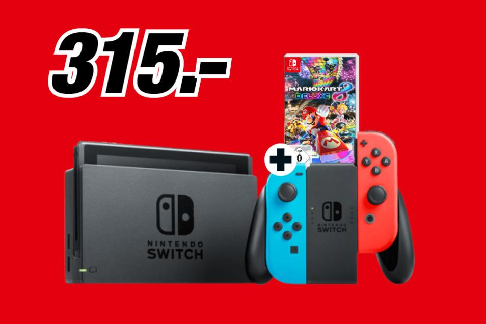 Nintendo Switch + Mario Kart 8 Deluxe geschenkt