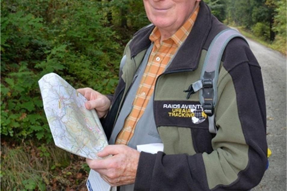 Der Wanderleiter Heinz Wirrig ist als Wanderleiter den Dippoldiswaldern bekannt. Er veröffentlicht Wandertipps in der SZ, leitet den Wanderstammtisch in Dippoldiswalde und hält Vorträge über seine Reisen. Er konnte zum Festakt nicht kommen und bekam den Zinnteller in Abwesenheit.