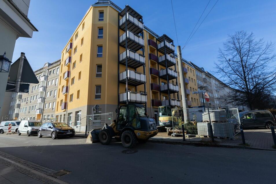 Die Eckhäuser auf der Hohe Straße und Heilige-Grab-Straße in Görlitz wurden zusammengelegt und saniert.