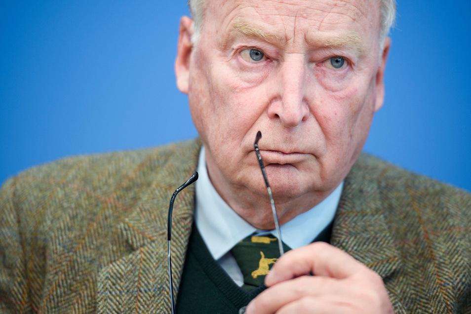 Alexander Gauland ist Fraktionsvorsitzender der AfD im Bundestag.