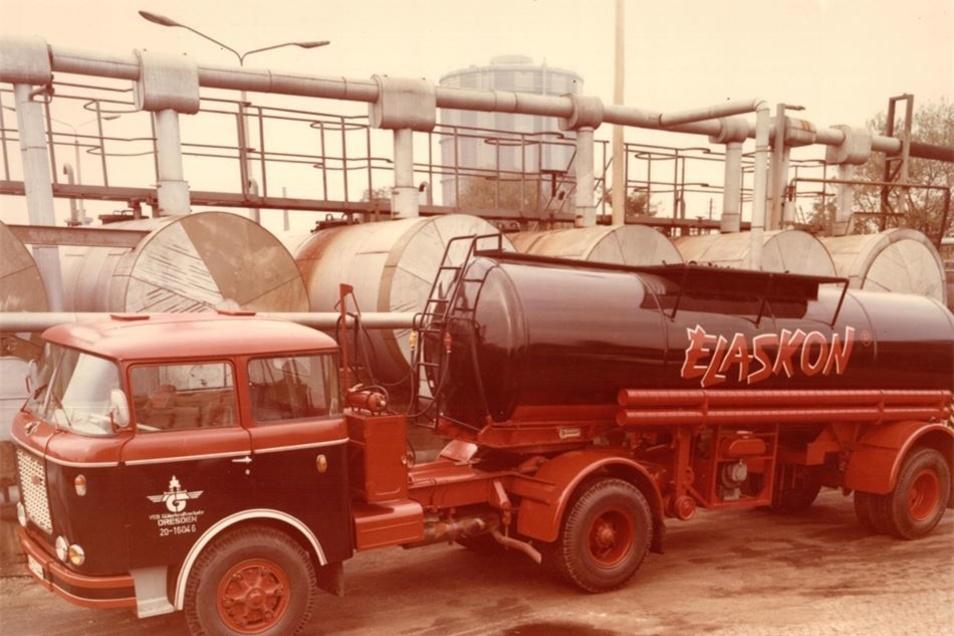Solche Skoda-Tanklaster fuhren Ende der 1960er über die Straßen der DDR.