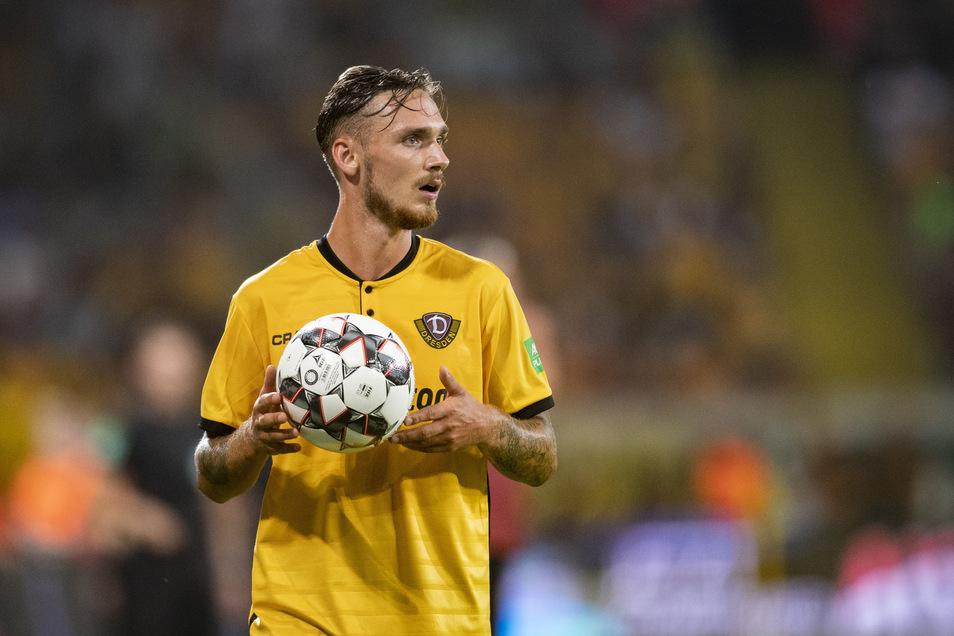 Linus Wahlqvist wechselte vor der Saison vom schwedischen Erstligisten Norrköping zu Dynamo und bestritt bisher 14 Spiele in der zweiten Liga für die SGD.