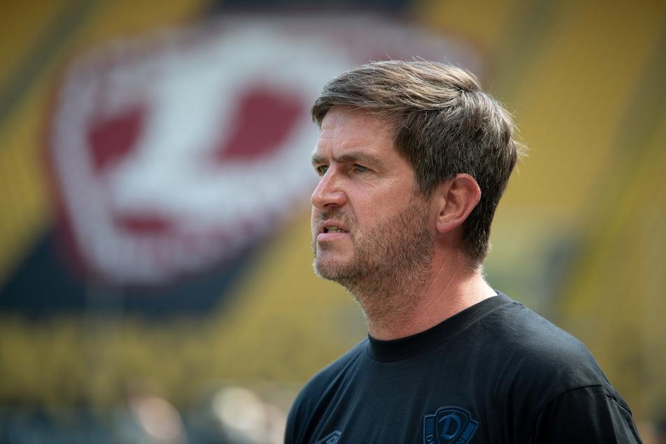 """Dynamos Sportgeschäftsführer Ralf Becker kündigt weitere Neuzugänge an, sagt aber auch: """"Wir haben den Kern der Mannschaft zusammen."""""""