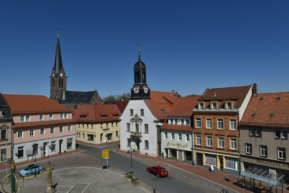 Mehrere Grundstücksbesitzer in der Wilsdruffer Innenstadt haben Rechnungen vom Rathaus bekommen.