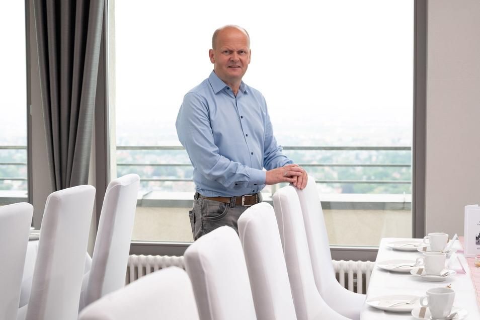 Luisenhof-Inhaber Carsten Rühle.