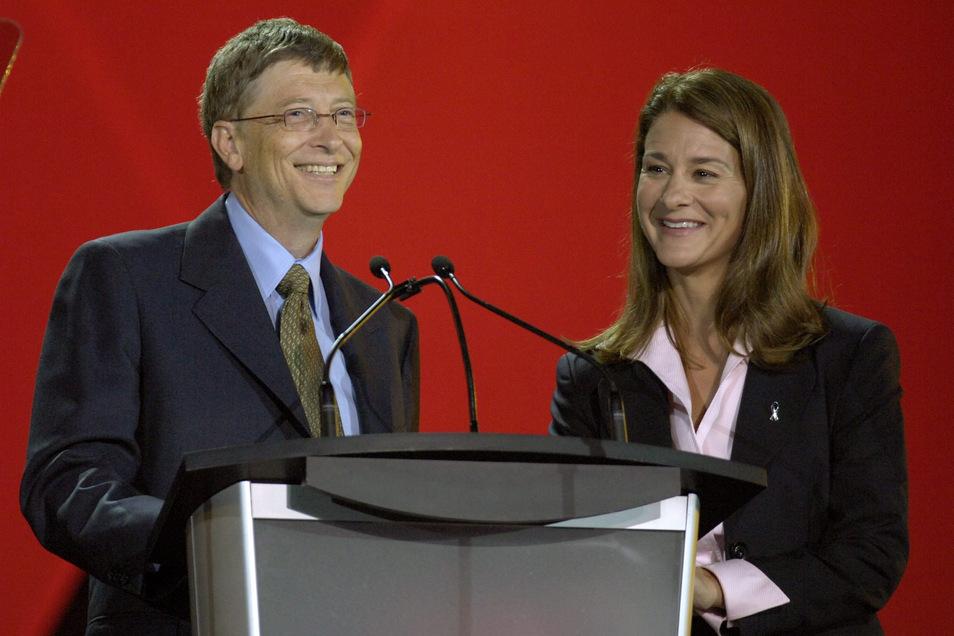 Bill und Melinda Gates.