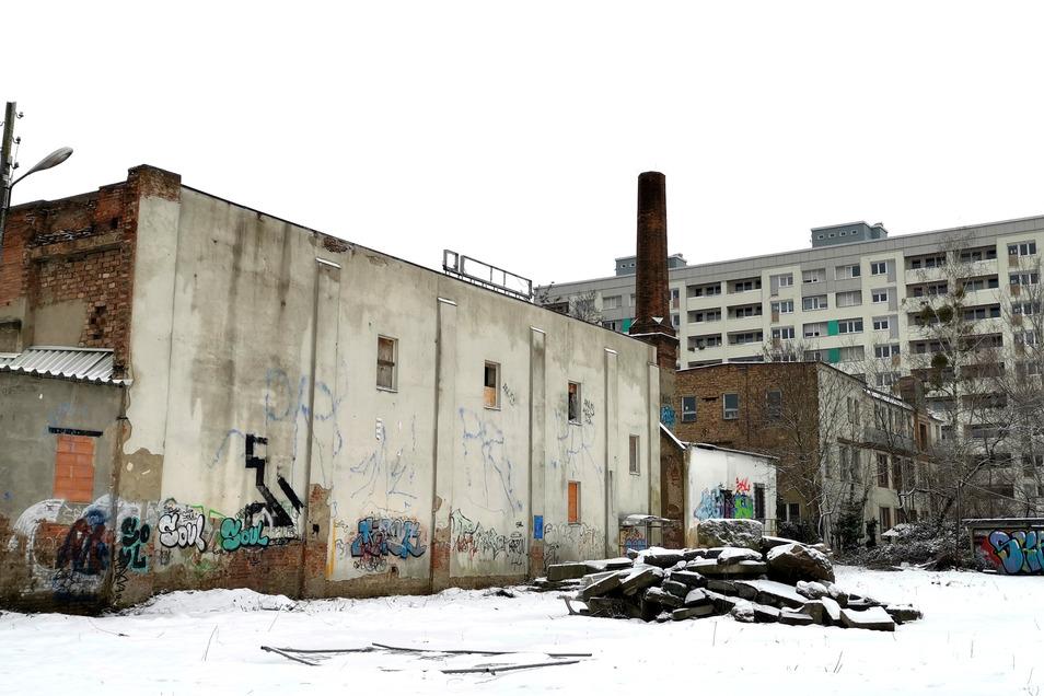 Vom alten Glanz des Fabrikgebäudes ist heute nicht mehr viel erhalten. Und dennoch ist sie Teil der Johannstädter Geschichte. Nun wird sie ausgebaut.
