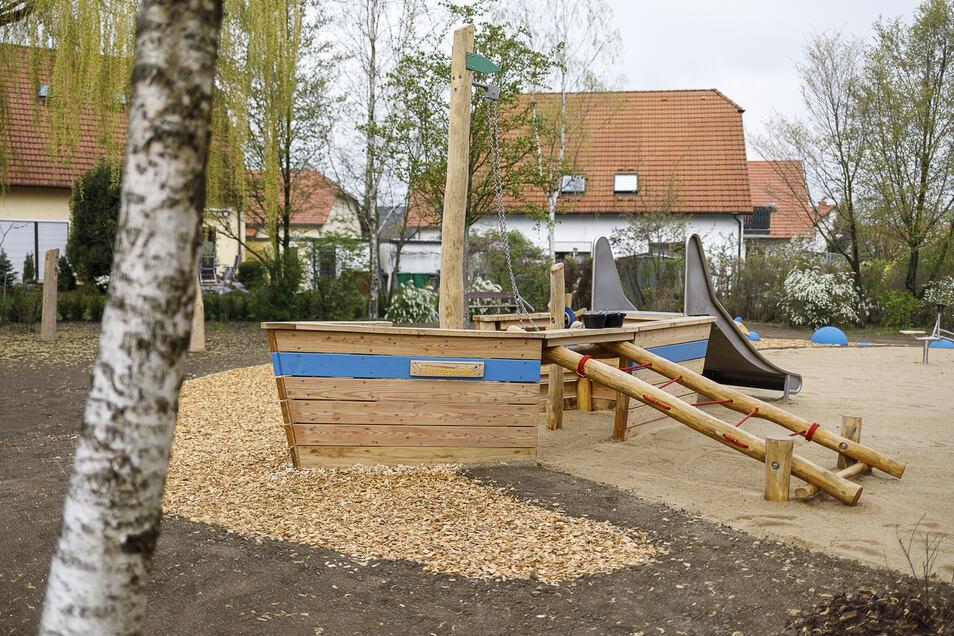 Auch dieser Spielplatz zwischen Lilienweg und Grundstraße im Görlitzer Stadtteil Biesnitz soll wieder öffnen.