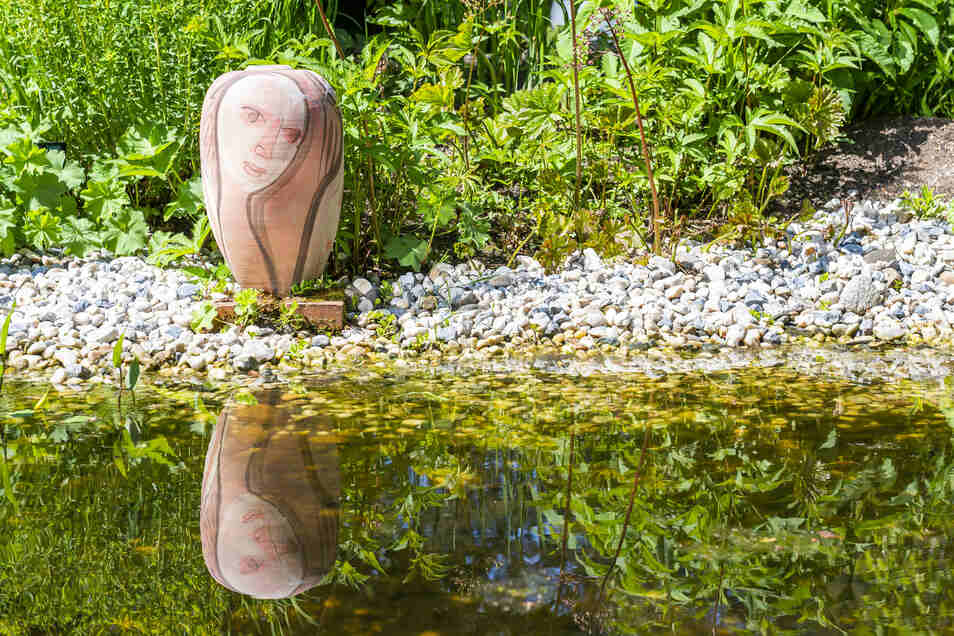 Impressionen aus dem Garten von Madeleine Metz in Moritzburg