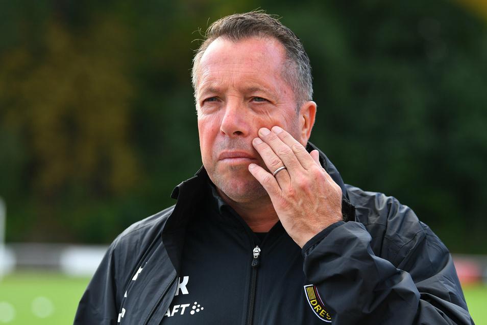 Die Offensive bereitet Dynamos Trainer Markus Kauczinski noch einige Kopfzerbrechen. Dabei kämpfen acht Spieler um vier Plätze in der Startelf.