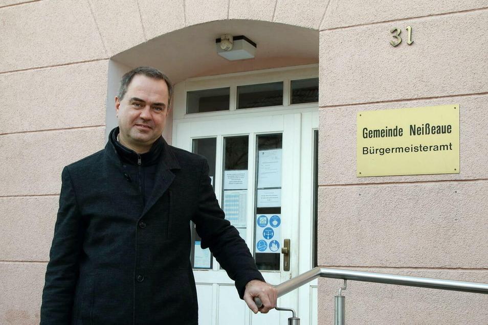 Per Wiesner ist seit 1. Dezember neuer Bürgermeister der Gemeinde Neißeaue. Am Donnerstag wird er für sein Amt vereidigt.