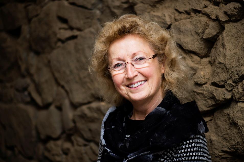 Petra Weinert ist die Vorsitzende des Frauenchors in Bischofswerda.