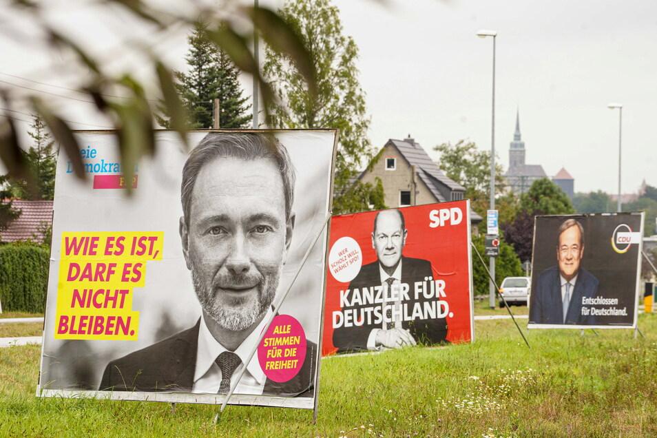 Die FDP holte ihr stärkstes Zweitstimmen-Ergebnis in der Gemeinde Steina, die SPD in Hoyerswerda.