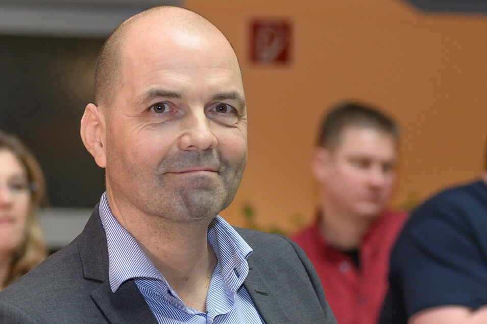 René Röthig ist Geschäftsführer der Stadtwerke Riesa. Dem Versorger gehört das Hallenbad in der Delle.