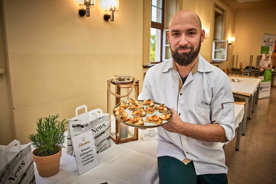 Sieht immer einen Ausweg und macht deshalb auch bei den Kulinarischen Wochen mit: Felix Mikulla von der Felsenbirne Pirna.