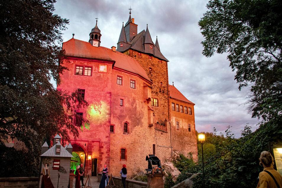 Zur einer Entdeckertour lädt die Märchenfee am 20. Oktober auf Schloss Kriebstein.