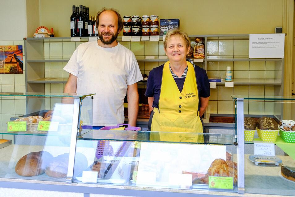 An diesem Donnerstag öffnen Ronny und Gabriele Kretzschmar zum letzten ihre Bäckerei.