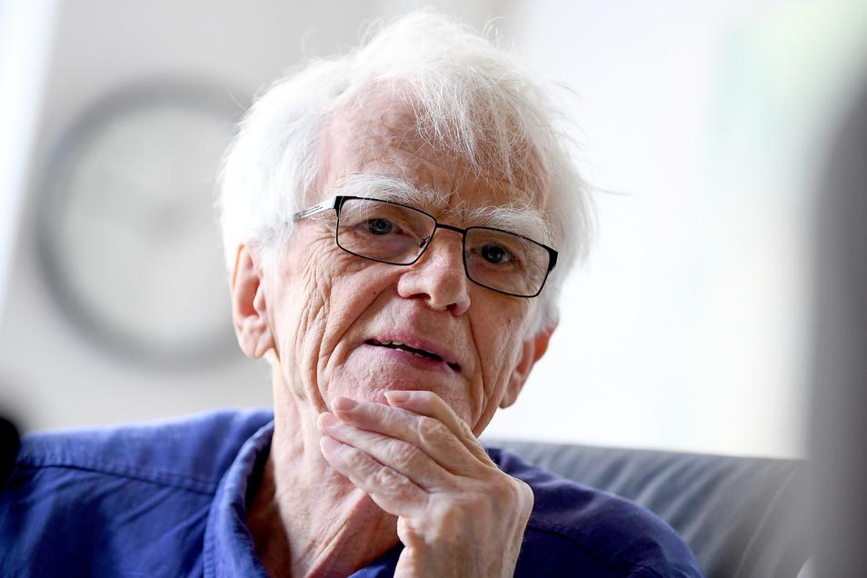 Der frühere Grünen-Bundestagsabgeordnete Hans-Christian Ströbele hat Ärger mit der Bahn.